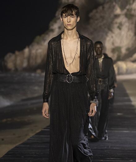 Saint Laurent Men Spring-Summer 2020 fashion show