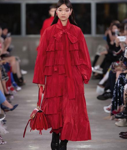 Valentino célèbre le Japon avec sa précollection automne 2019