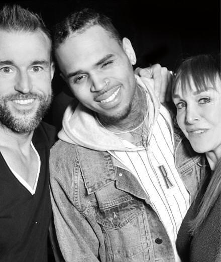 La performance de Chris Brown au défilé Philipp Plein automne-hiver 2016