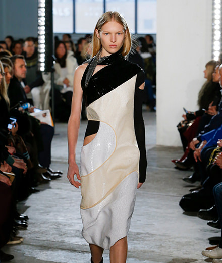 """How do you twist French couture"" by Proenza Schouler"