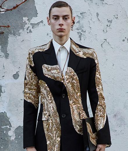 La collection Alexander McQueen homme automne-hiver 2020-2021