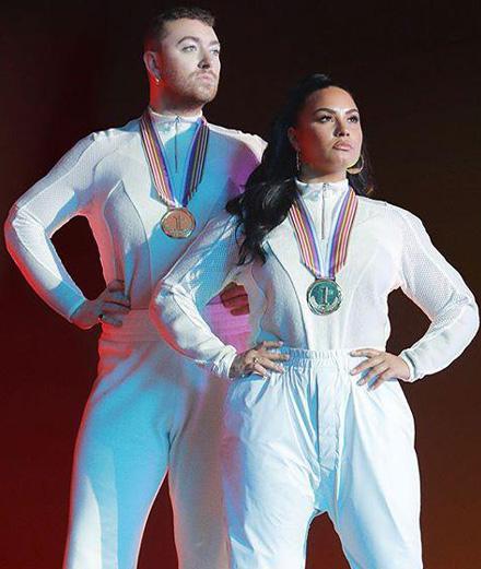 Demi Lovato et Sam Smith créent leurs propres Jeux Olympiques