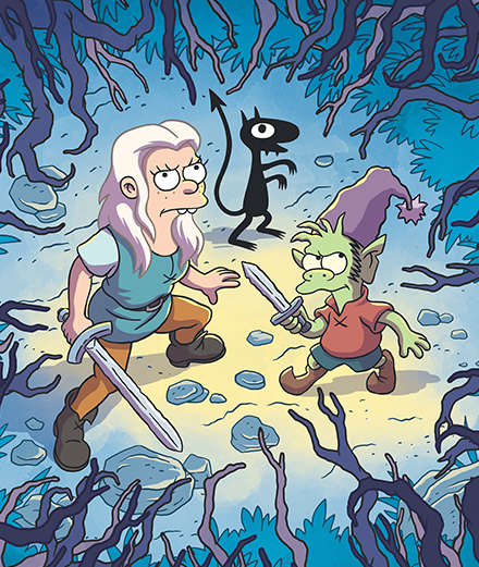 """Disenchantment"": The Simpson's creator Matt Groening's bitter failure"