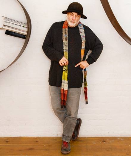 Numéro caught up with the unconventional and exuberant designer Ron Arad