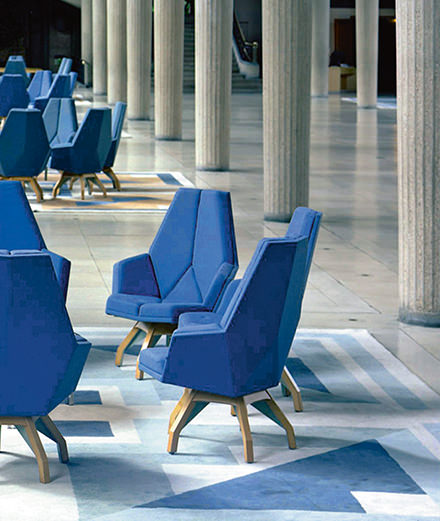 Pierre Paulin au Centre Pompidou, au cœur de la rétrospective évènement