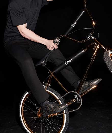L'objet du jour : le vélo Dior x Bogarde