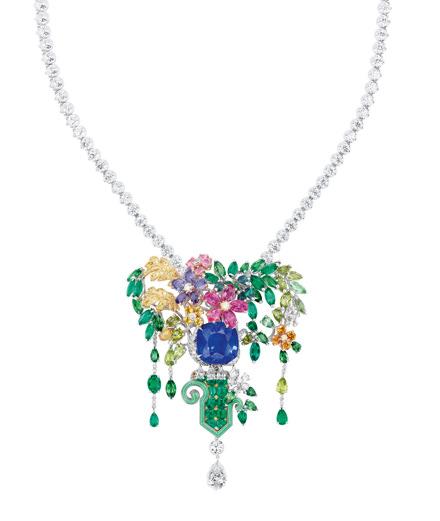 Objet du jour : la haute joaillerie Dior rend hommage aux jardins de Versailles