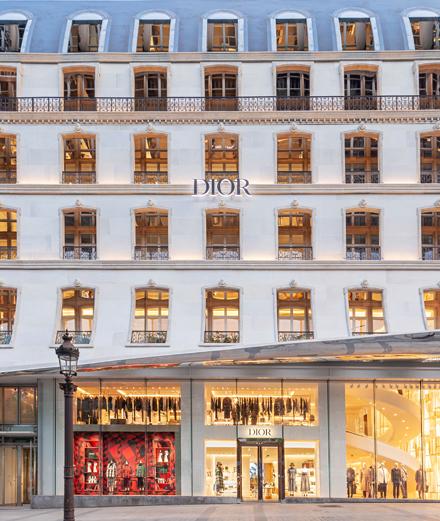 Dior s'installe sur les Champs-Élysées