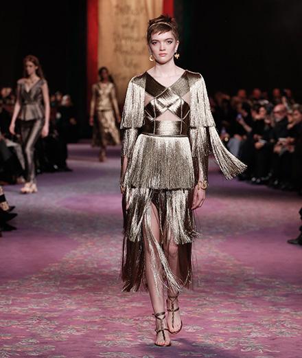 Le défilé Dior haute couture printemps-été 2020