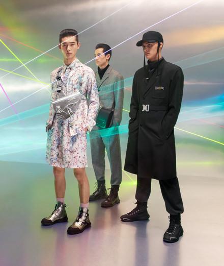 Les nouvelles pièces Dior Homme x Hajime Sorayama