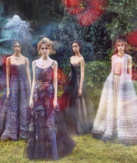 Le défilé Dior Haute-Couture printemps-été 2017