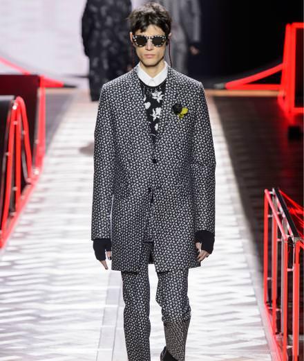 La vidéo du défilé Dior homme automne-hiver 2016