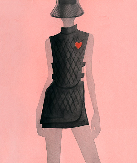 Les dessins à l'élégance subtile de Mats Gustafson pour Dior réunis dans un livre