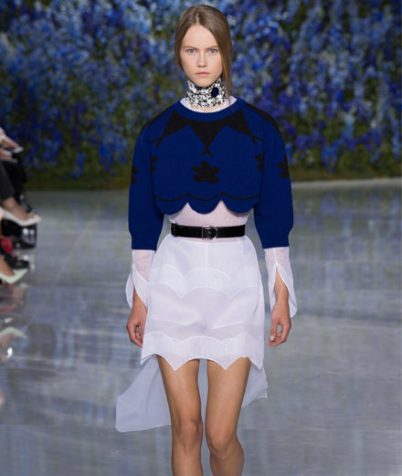 Dior spring-summer 2016 fashion show