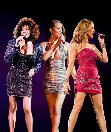 Whitney, Mariah, Céline : connaît-on vraiment les trois divas des 90's?