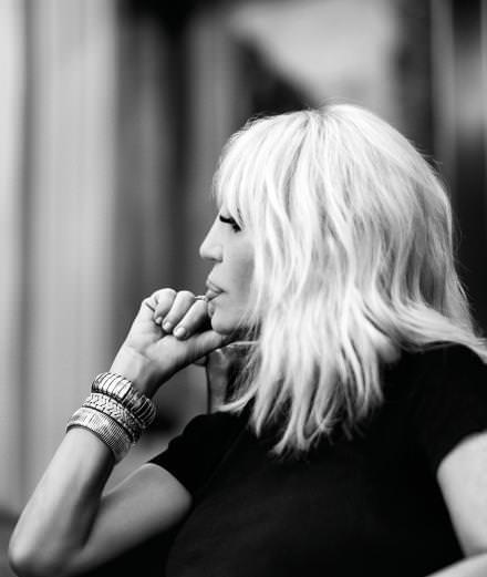 Les adresses de Donatella Versace à Milan