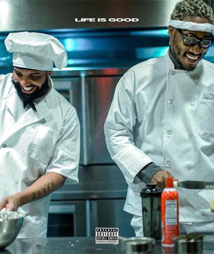Drake et Future préparent des burgers