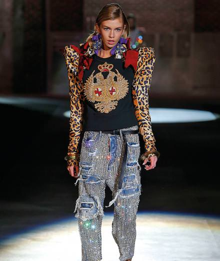 Underground takes the lead at Dsquared2 Spring/Summer 2017 runway show