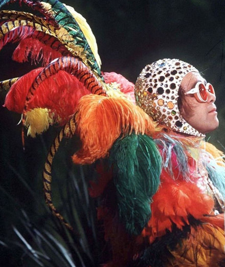 Elton John is back in fashion