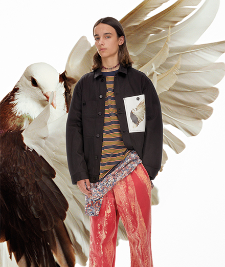 Études spring-summer 2021 menswear collection goes out in Paris