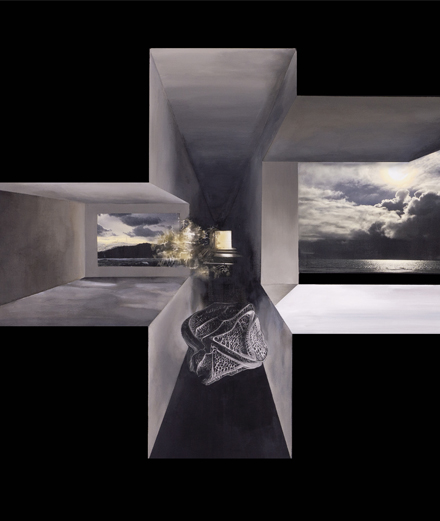 À quoi ressemblent les peintures de l'architecte Christian de Portzamparc ?