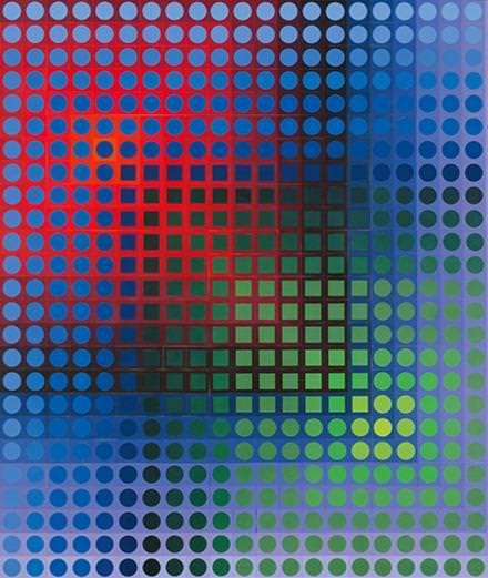 La fascinante exposition Vasarely au Centre Pompidou