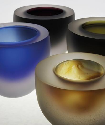 Le verre selon Robert Wilson à la galerie Downtown