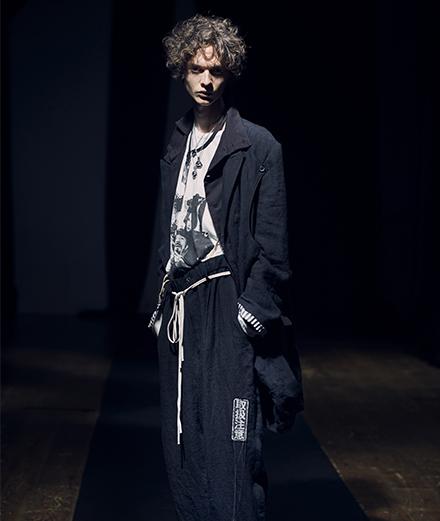 Yohji Yamamoto dévoile une collection homme punk et éveillée