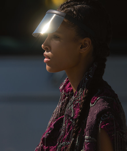 """Exclusive: the fashion story """"Physical"""" by Hans Feurer, with Cindy Bruna"""