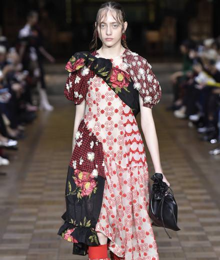 Simone Rocha invests the Southwark Cathedral in London