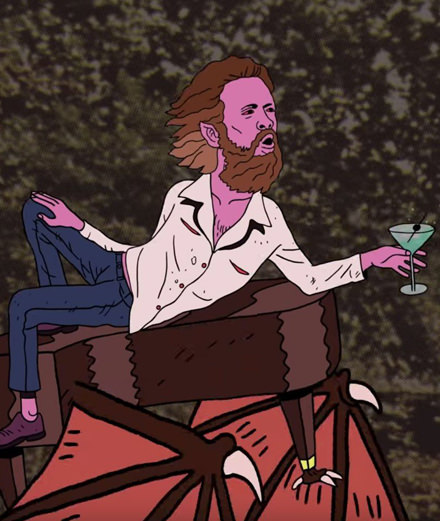"""Date Night"", un dessin animé psychédélique signé Father John Misty"