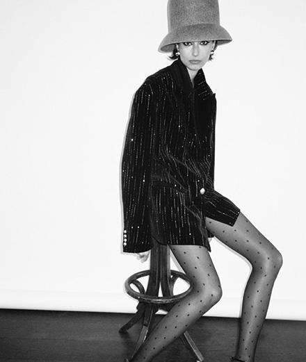 Alexandra Agoston dans une série mode signée Cameron McCool