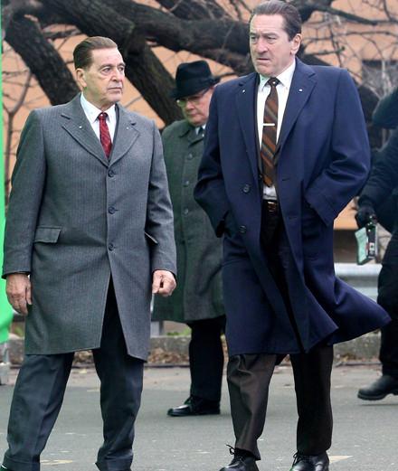 Scorsese rajeunit Robert de Niro et Al Pacino sur Netflix