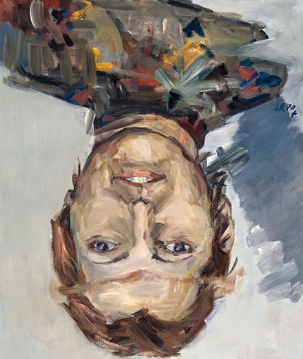 En image : Georg Baselitz, une star de la peinture à Venise