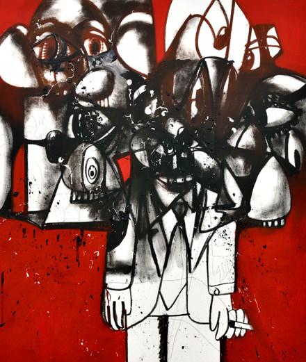 Comment George Condo mêle fake news et histoire de l'art dans ses fresques monumentales