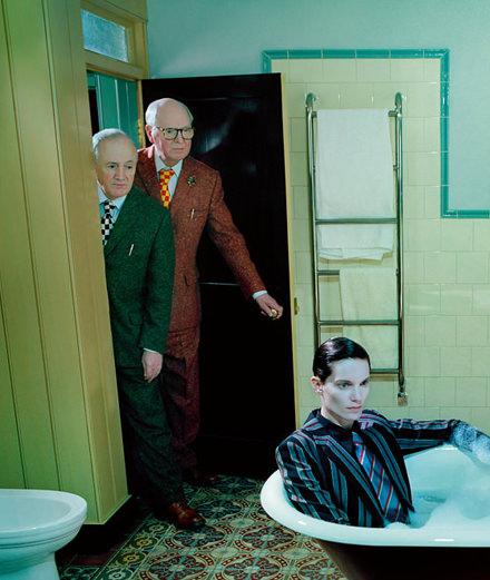 Rencontre avec Gilbert & George, duo provocateur à l'honneur à la foire d'art de Bruxelles