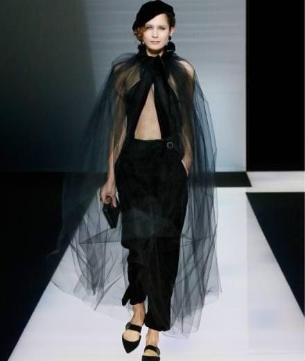 Giorgio Armani fall-winter 2016-2017 runway show