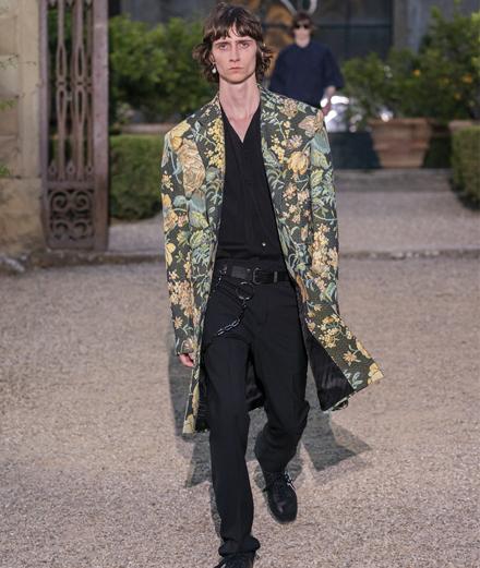 Le défilé Givenchy homme printemps-été 2020 au Pitti Uomo