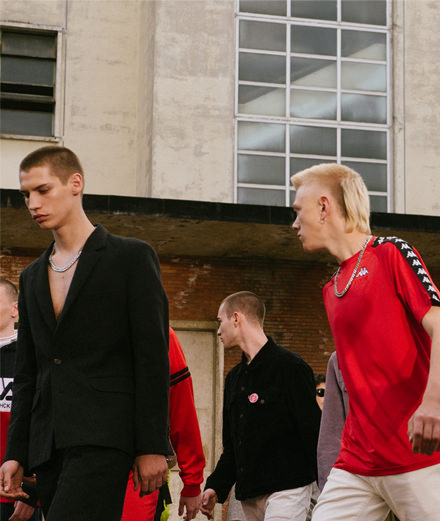 Exclusive: Gosha Rubchinskiy spring-summer 2017 runwayshow  seen by Yulya Shadrinsky