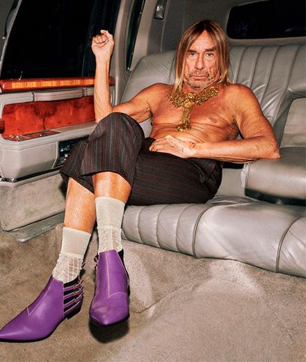 Iggy pop et Sienna Miller batifolent pour Gucci