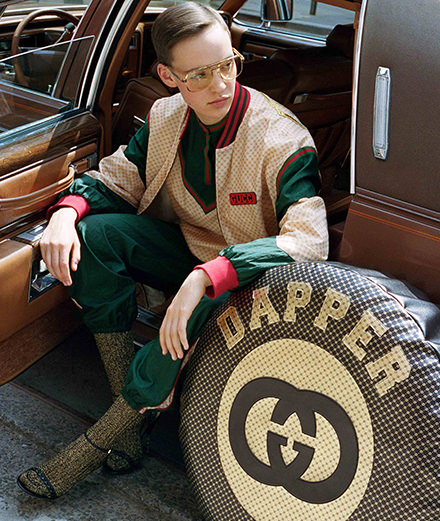 La collection Gucci-Dapper Dan en direct de Harlem