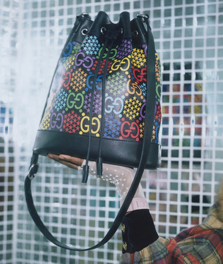 Gucci dévoile une collection totalement psychédélique