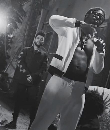 """Gucci Mane et The Weeknd se dédoublent pour le clip  """"Curve"""""""