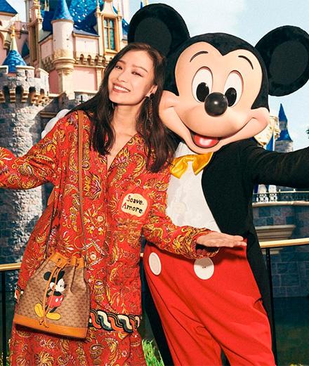 Gucci célèbre le nouvel an chinois avec Mickey Mouse