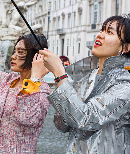 Exclusive :  Gucci join forces with the photographer Martin Parr