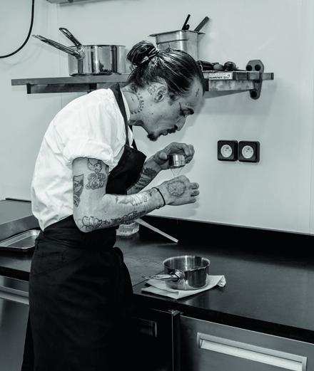 Guillaume Sanchez, le chef étoilé passionné de cocktails
