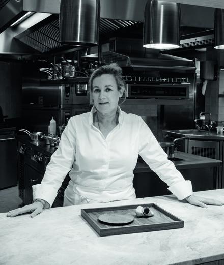 Hélène Darroze, fine fleur de la cuisine gastronomique