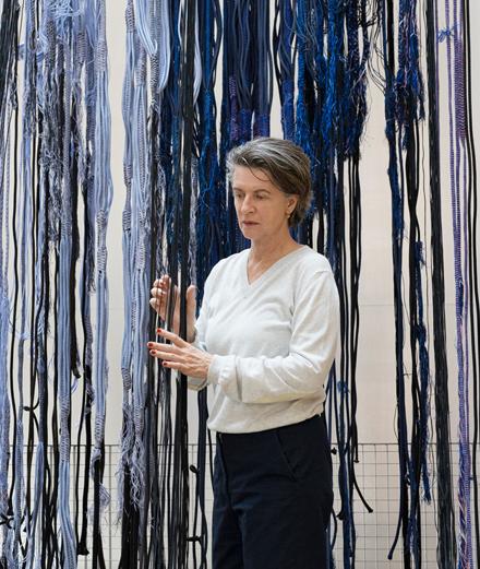 Quand le textile devient œuvre d'art : Hella Jongerius à Lafayette Anticipations