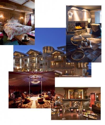 Les plus beaux hôtels de Courchevel