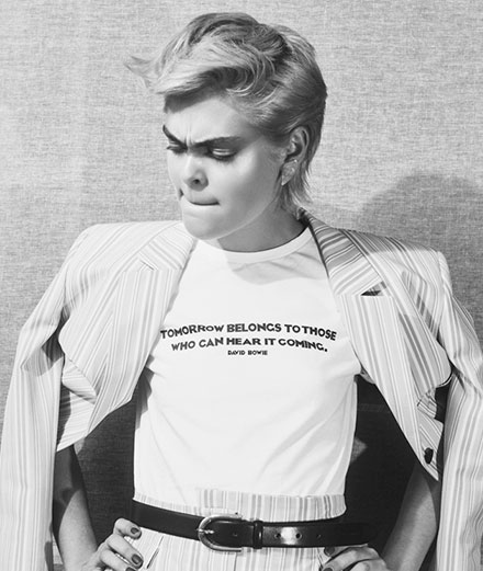 David Bowie s'invite chez Hugo Boss